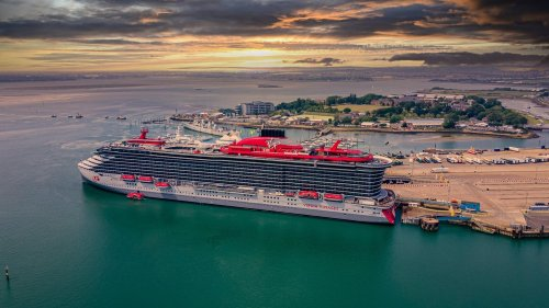 Take a look around the Scarlet Lady and see what a stay would look like