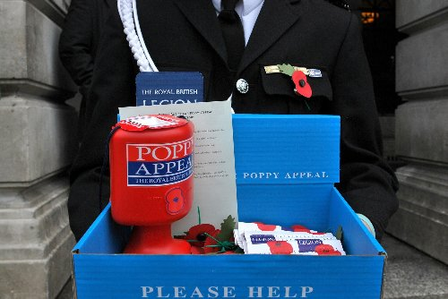 Royal British Legion to 'stop selling poppies in the EU due to Brexit', reports