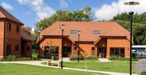 See what the homes looks like at a newly built retirement village in Fareham