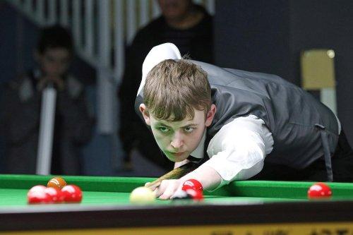 Havant's teenage snooker starlet Jamie Wilson hits maiden maximum break