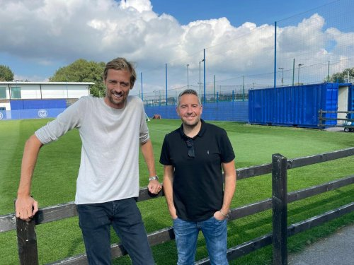 Anyone need goals? Why former England striker Peter Crouch was back at Pompey