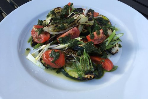 Fennel and courgette salad with lovage dressing | Recipe of the week