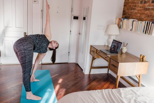 Six in 10 adults who exercised during lockdown now plan to ditch the gym altogether - in favour of working out at home