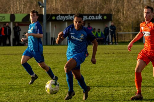 Rudi Blankson strikes but it's not enough to secure Baffins Milton Rovers win at Alresford
