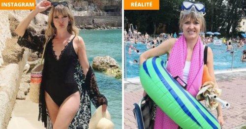Elle expose la vérité sur les photos faussement parfaites d'Instagram : 20 images hilarantes