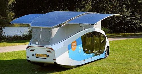 Stella Vita : un camping-car solaire qui déploie ses ailes pour se recharger