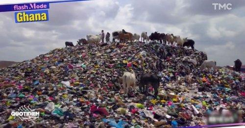VIDÉO. Quand nos vêtements « à recycler » finissent par millions sur les plages du Ghana