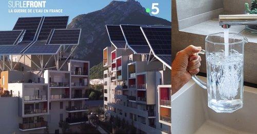 VIDÉO. Grenoble : cet immeuble transforme l'eau de pluie en eau potable pour ses 62 logements