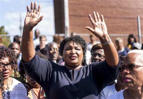 Where does Stacey Abrams find the time to write a novel?