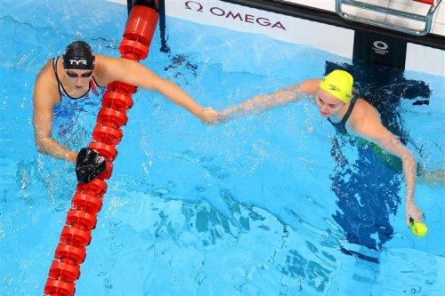Titmus takes gold again, Ledecky doesn't medal