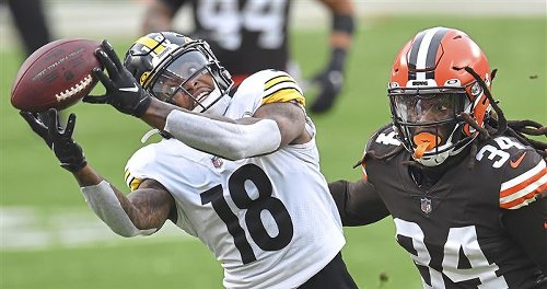 Steelers looking for consistency and versatility from their receivers