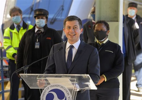 Infrastructure Q&A: Pete Buttigieg has Eisenhower, Lincoln and buses on his mind