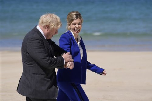 U.K. Prime Minister Boris Johnson's wife says she's pregnant again