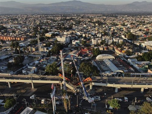 Report blames poor welds for Mexico City subway collapse