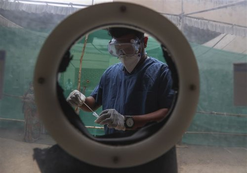 Scientists race to study coronavirus variants in India as cases explode