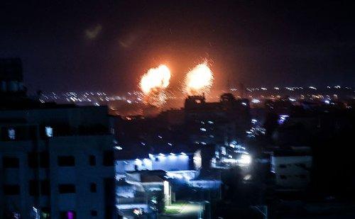 Israeli airstrikes target Gaza