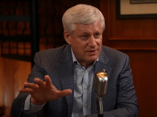 'Its ethics are entirely nihilist': Stephen Harper slams 'woke' left in rare interview