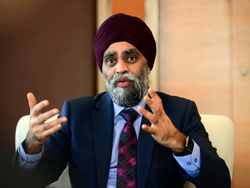 Sajjan directed military to provide him with aide in Vancouver