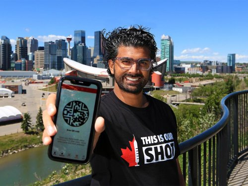 Calgarian launching vaccine passport app for travel-ready Canadians