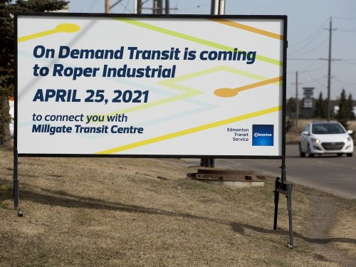 Edmonton's launching the largest on-demand transit service in Canada: Here's how it will work starting April 25