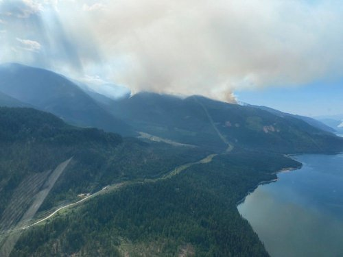 B.C. Wildfires: Cooler temperatures welcome, but winds and possible thunderstorms in fire zone forecasts