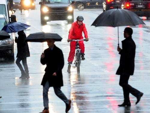 Catch some rays today because heavy rain arrives tonight, as first storm of season hits