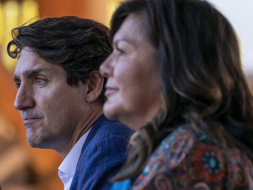 FIRST READING: Justin Trudeau's extremely uncomfortable visit to Kamloops