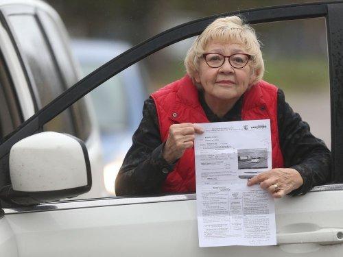 'MONEY GRAB': 'Careful' driving senior nailed for $469 fine in photo radar 'trap'