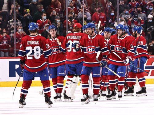 Todd: Overdue win gives Habs faithful something to cheer about