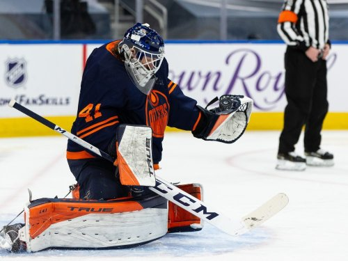 OILERS NOTES: Age just a number for goaltender Mike Smith