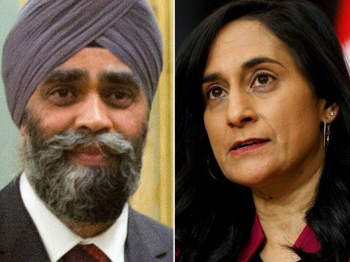 Trudeau cabinet shuffle: Harjit Sajjan out as defence minister, replaced by Anita Anand