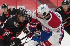 Senators gameday versus Canadiens