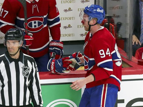 Canadiens Game Day: 'We all know it was a high stick,' Corey Perry says