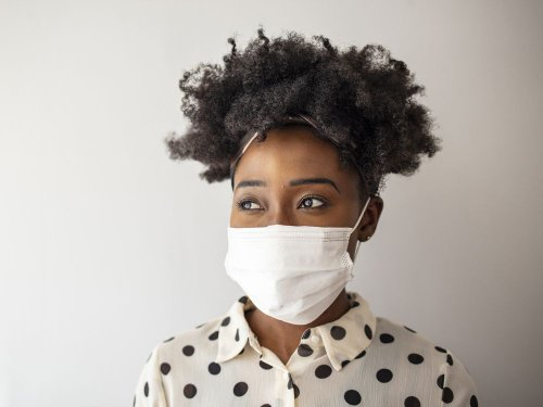 Skin conditions that could be worsened by masks