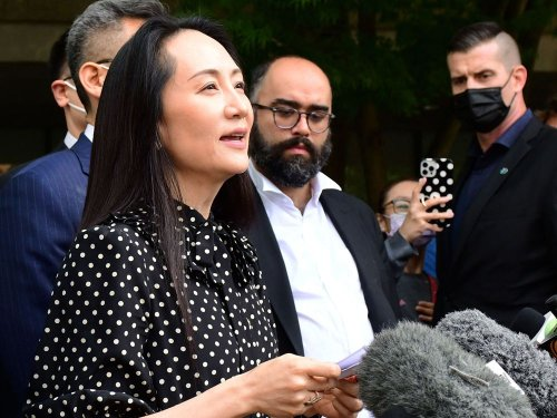 Meng Wanzhou free to go in B.C. after U.S. extradition order withdrawn