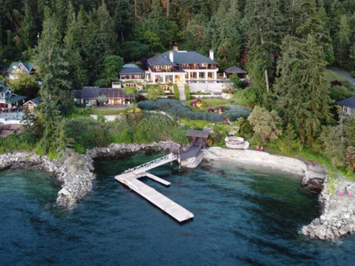 Waterfront Saanich Peninsula home near Victoria sells for record $22.75M