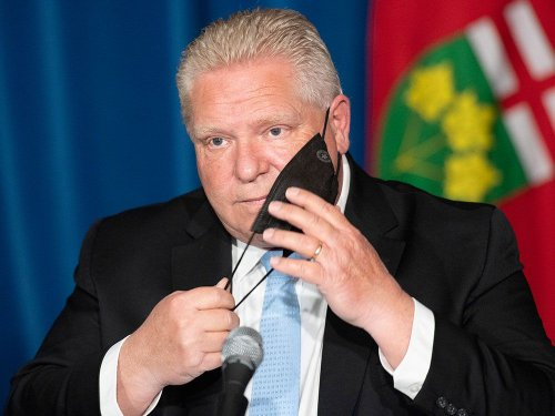 Kelly McParland: You mean Ontarians can't play golf because of Doug Ford's buddies?
