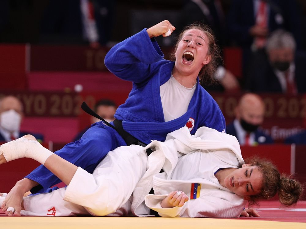 Catherine Beauchemin-Pinard wins another Olympic judo bronze for Canada