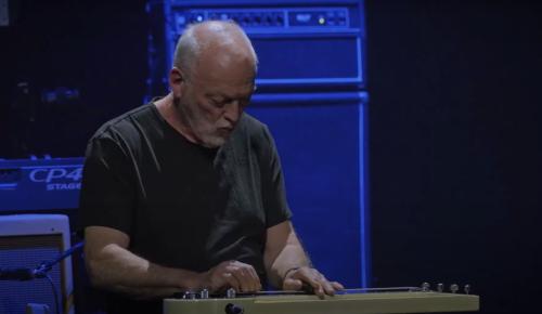 "Watch David Gilmour Play Steel Guitar on ""Albatross"""