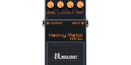 BOSS Announces the HM-2W Heavy Metal Pedal