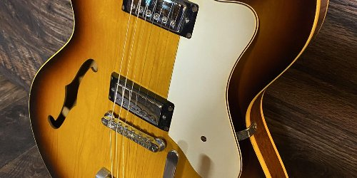 A Rare Epiphone Riviera with Gibson DNA