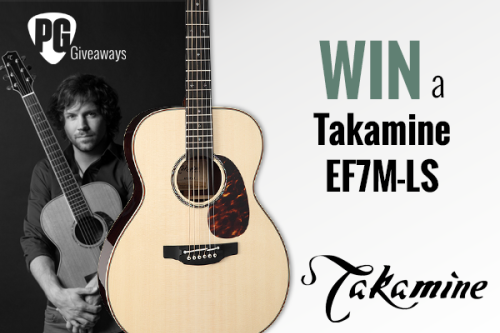 Acoustic Guitar Giveaway!