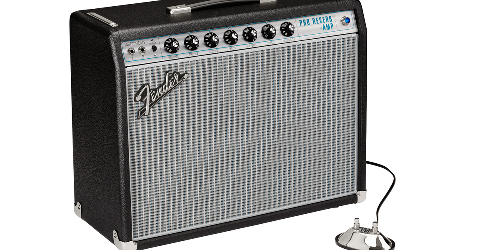 Fender Releases the '68 Custom Pro Reverb and '68 Custom Vibro Champ Reverb