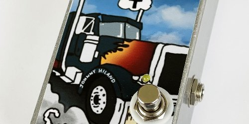 Metal Pedals and Johnny Hiland Unveil the Smokestack Overdrive