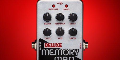 Electro-Harmonix Unveils the Nano Deluxe Memory Man