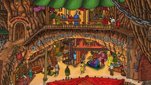 Labyrinth City: Pierre the Maze Detective - Rätsel-Abenteuerspiel zur Kinderbuchreihe
