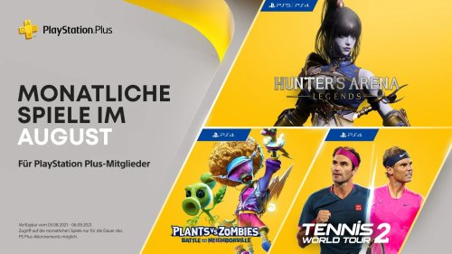 PlayStation Plus - Hier sind die PS+ Games für den August 2021