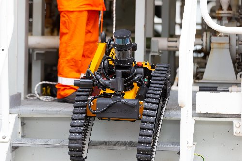 Taurob and Equinor to introduce autonomous robots on Norway's offshore platforms