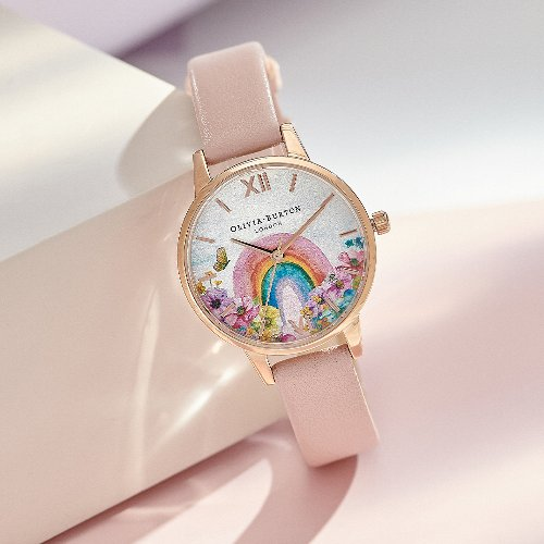 OLIVIA BURTON LAUNCHES 'RAINBOW OF HOPE' WATCH IN AID OF NHS CHARITIES TOGETHER
