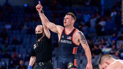Johnny Stefanowicz: From Bel Air To U.S. Marine Corps To Olympic Wrestler - PressBoxOnline.com